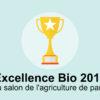La ferme des cochets lauréate du prix de l'excellence Bio !
