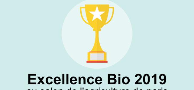 La ferme des cochets lauréat du prix de l'excellence Bio !