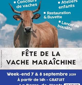 Fête de la vache maraîchine les 7 et 8 septembre