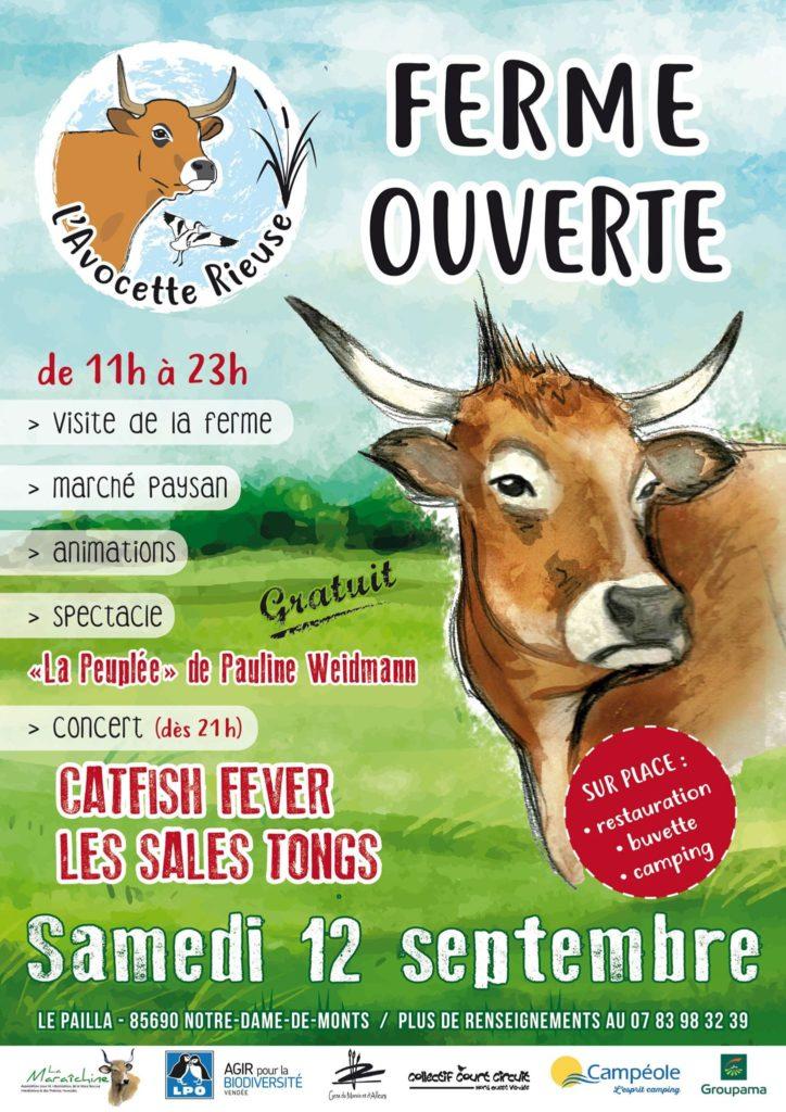 Samedi 12 septembre 2020 opération ferme ouverte pour soutenir les éleveurs de l'association AALVIE