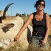 Lucie Maritaud éleveuse de vaches maraichines dans le journal Demain Vendée