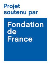 logo projet soutenu par la fondation de france